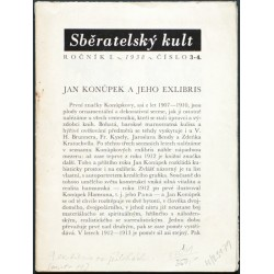 Jan Konůpek a jeho exlibris