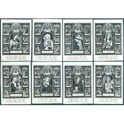Sigmund Rudl - Holy Cards