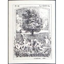 Ex libris Vojta Náprstek