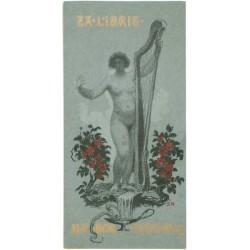 Ex libris MUDr. Otto Kuh