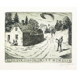 Alois Dyk (Emporium) P. F. MCMXXXV