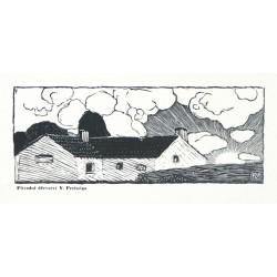 Preissig - Mnoho štěstí ... v Novém roce 1937 přeje Karel Dyrynk