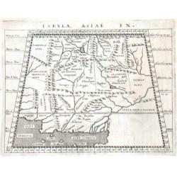 Tabvla Asiae IX