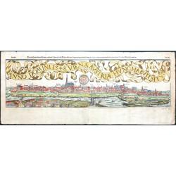 Anno Domini 1548. Viena Austriae hunc habuit situm