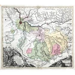 Pagi Basileensis ... mappa geographica