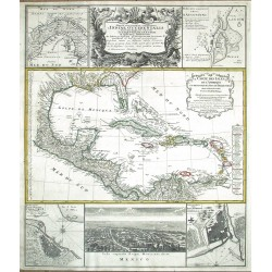 Mappa geographica complectens I. India Occidentalis