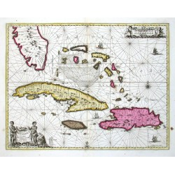 Insularum Hispaniolae et Cubae delineatio