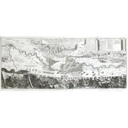Geometrischer Grundt und Abriß der gegent deß Closters St. Gotthardten ... sambt dem Memorabilen Treffen ... Anno 1664