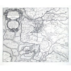 Landcarte der, zu dem Ambte Tondern gehörigen Marschländer