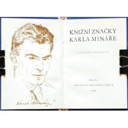 Knižní značky Karla Mináře