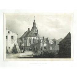 Die Dechantei Kirche in Arnau