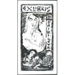 Exlibris M. Přibilová