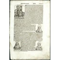 Hartmann Schedel - Liber Chronicarum, 1493 - Folium CXXXVI