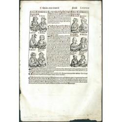 Hartmann Schedel - Liber Chronicarum, 1493 - Folium LXXXIII