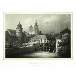 Malerische Parthie in Nimburg