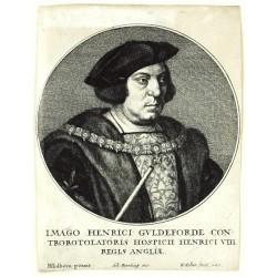 Imago Henrici Guldeforde Controrotolatoris Hospicii Henrici VIII Regis Angliae
