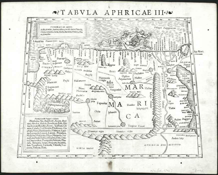 Tabula Aphricae III