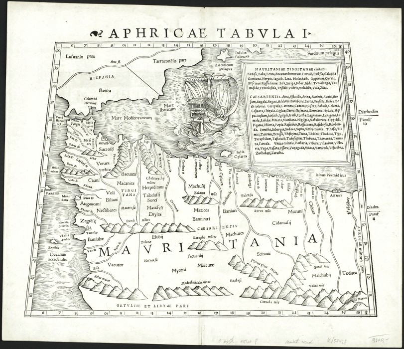 Aphricae tabula I