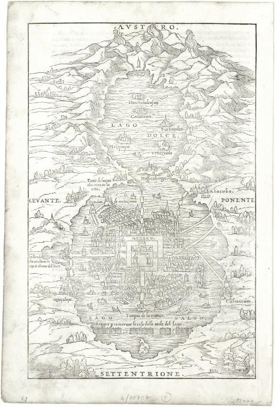 Mexico - Alte Landkarte