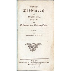 Physikalisches Taschenbuch auf das Jahr 1789