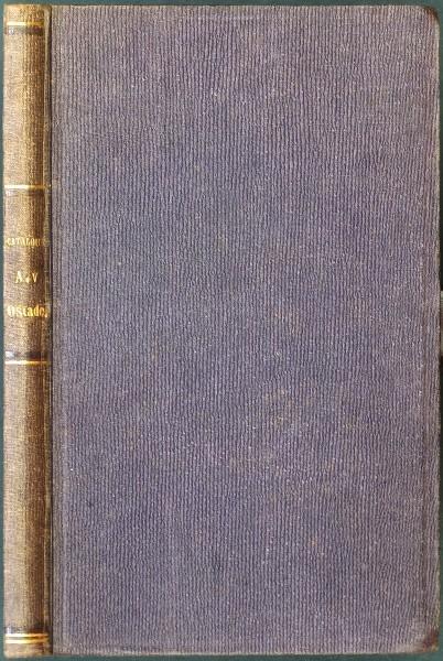 Catalogue Raisonne de Toutes les Estampes ... D'Adrien Van Ostade