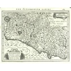 Patrimonio di S. Pietro, Sabina et Campagna di Roma olim Latium