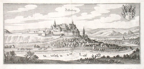 Dillenberg - Stará mapa