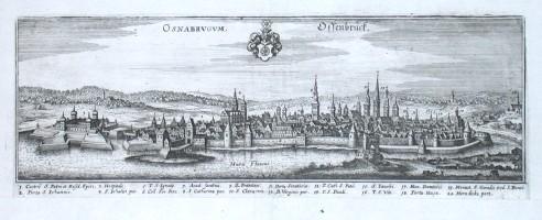 Osnabrugum - Ossenbrück - Alte Landkarte