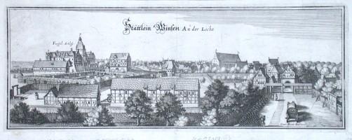 Stättlein Winsen An der Liche - Stará mapa
