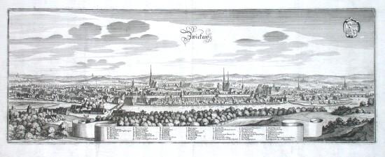 Zwickaw - Alte Landkarte