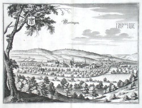 Moringen - Alte Landkarte