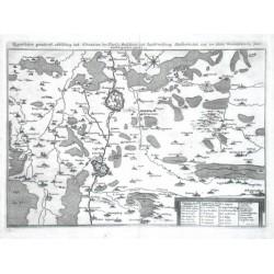 Eigentlicher Grundtriß, Abbildung und Situation der fürstl. Residentz und Haubtvestung Wolfenbüttel und der Stat