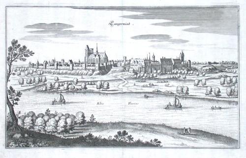 Tangermünd - Antique map