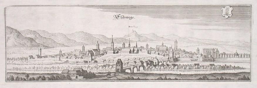 Eschwege - Antique map