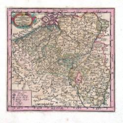 Des Burgundischen Creisses Südlicher theil oder Oesterreichische Niederlande