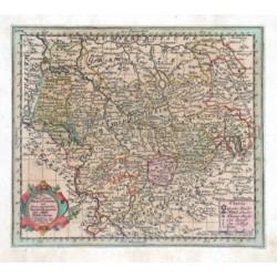 Das Herzogthum Braunschweig mit seinen abgetheilten Fürstenthümern den Stiffte Hildesheim