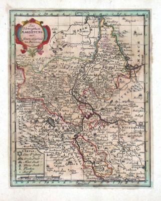 Das Herzogthum Magdeburg
