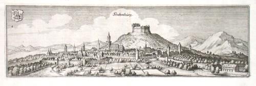 Hohmburg - Antique map