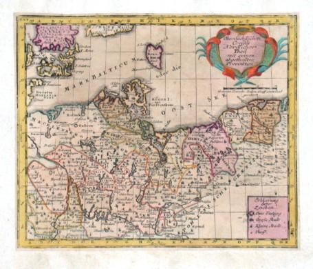 Des Ober Sächsischen Creißes Nordlicher Theil - Alte Landkarte