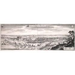Prospect der Statt undt Vestung Harburg
