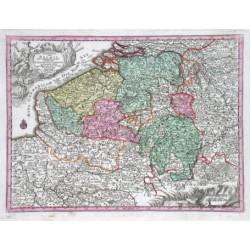 Germaniae Inferioris sive Belgii Pars Meridionalis exhibens X. Provincias Catholic
