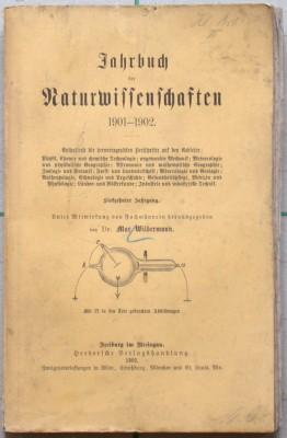 Jahrbuch der Naturwissenschaften 1901-1902.