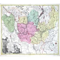 Mappa Geographica exhibens Electoratum Brandenburgensem, sive