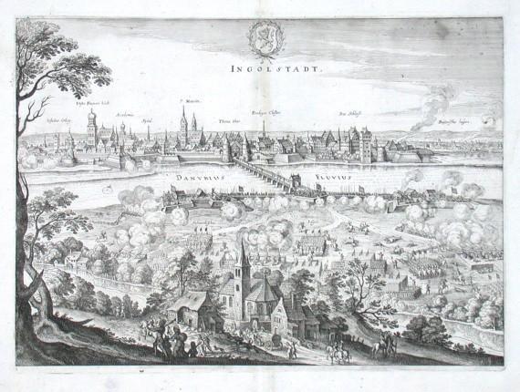 Ingolstadt - Stará mapa