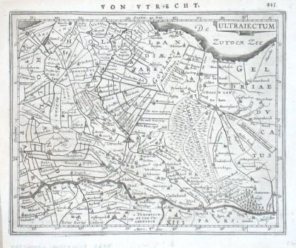 Ultraiectum - Stará mapa