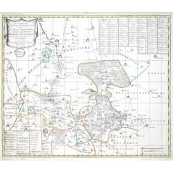 Accurate Geographische Delineation Der Aemmter Dahme und Iüterbog