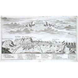 Namur von der Maas Seiten nach Braband anzusehen