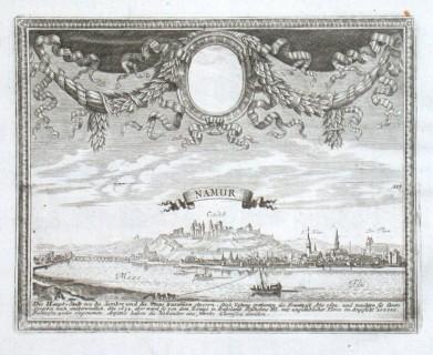 Namur - Stará mapa