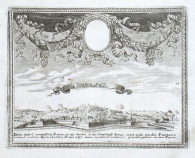 Charle-Roy In der Grafschafft Namur - Stará mapa