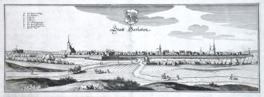 Statt Barleben - Stará mapa